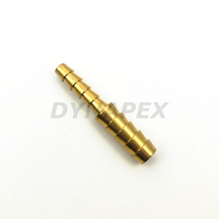 Reducer 8mm to 6mm Barb Brass Fitting Connector