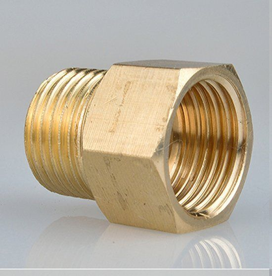 Metric Fitting M14 M14X1 25 Male to M14X1 5 Female Brass Adapter