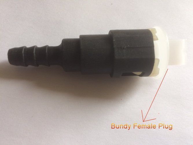 """Fitting Fuel Line Quick Connector 3//8"""" Bundy Male Tube Plug  @N9"""